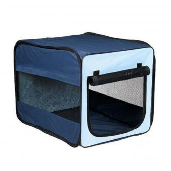 TRIXIE 66*45*48см Tcamp Транспортная сумка складная черный нейлон
