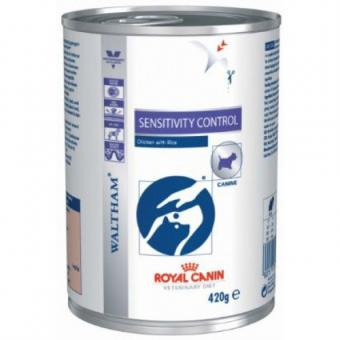 Royal Canin 420 г. Sensitivity control  Консервы диета для собак при пищевой аллергии или непереносимости