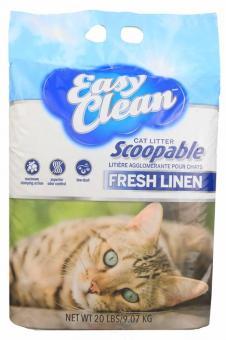 Easy Clean 9кг Fresh Meadow Наполнитель комкующийся с ароматом цветущего луга