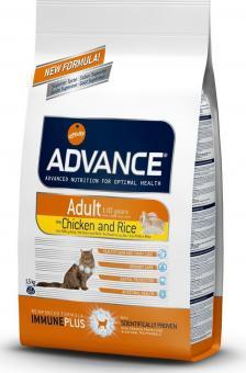 Advance 3кг Adult Cat Chiсken & Rice  Сухой корм для кошек от 1 до 10 лет с курицей и рисом.