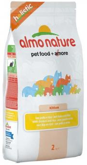 Almo Nature 12кг для котят с курицей и коричневым рисом
