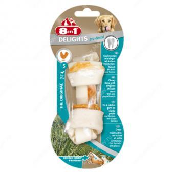 8in1 Delights Dental S 11 см косточка для чистки зубов