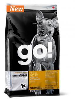 Go Natural 11,35 кг Sensitivity  Duck  беззерновой для щенков и собак с уткой для чувствительного пищеварения