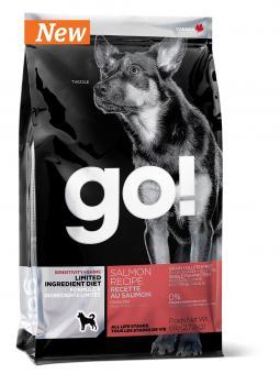 Go Natural 11,35кг Sensitivity  Salmon беззерновой для щенков и собак с лососем для чувствительного пищеварения