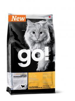 Go Natural 3,63кг Sensitivity Duck Cat беззерновой для котят и кошек с чувствительным пищеварением со свежей уткой