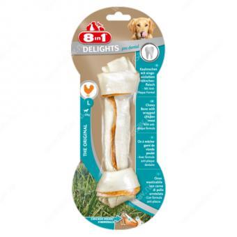 8in1 Delights L 21 см косточка для собак крупных пород