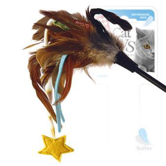 GiGwi (75245) 50330 51см  Игрушка для кошек Дразнилка на стеке со звездочкой