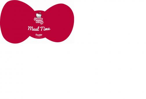 Hello Kitty™ Pet Feeding Mat - Meal Time / Коврик для кормления в форме банта