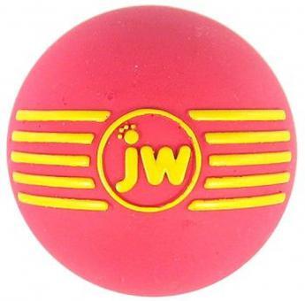 JW iSqueak Ball Мяч с пищалкой для собак, каучук, маленький
