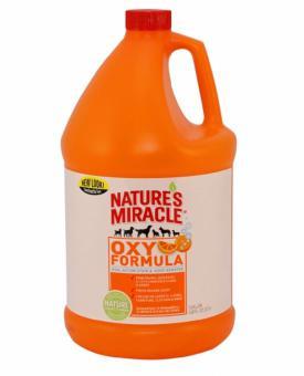 Nature's Miracle 3,785 л Уничтожитель запахов  кошачьих меток и мочи Оранж-Окси Stain & Odor Remover, Orange-Oxy Power (spray)
