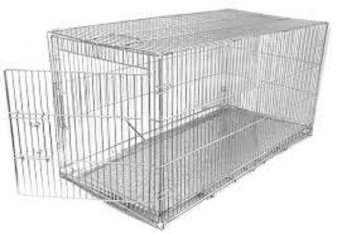 Клетка для собак 500*700*550 с металическим поддоном