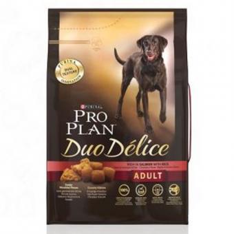 Pro Plan 0,7кг Duo Delice для взрослых собак с лососем