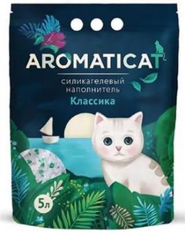 Aromaticat 3л Силикагелевый гигиенический наполнитель Классика