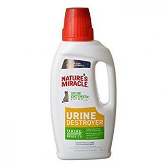 Nature's Miracle 946мл Уничтожитель мочи для кошек,  NM Cat Urine Destroyer Pour 32oz