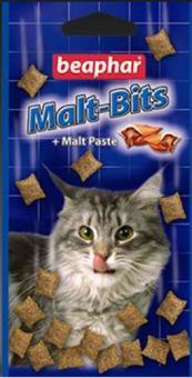 Beaphar Malt Bits malt paste 75шт. Лакомство для вывода шерсти, курица