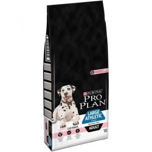 Pro Plan 14кг Large Adult Athletic Sensitive Skin для собак крупных пород атлетически сложенных с чувствительной кожей  с лососем