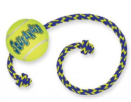 KONG игрушка для собак Air Sport Теннисный мяч очень маленький (в упаковке 3 шт) 4 см без пищалки