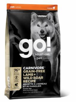 Go! Solutions Dog 10 кг Carnivore Grain Free Lamb + Wild Boar беззерновой корм для собак и щенков Ягненок + Дикий Кабан