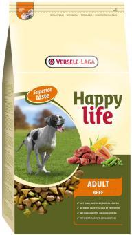 Happy Life (Versele-Laga) 3кг Для собак с говядиной (Happy life Adult Beef)