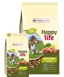 Happy Life (Versele-Laga) 15кг Для собак Куриный ланч (Happy life Adult Chicken Dinner)