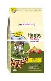 Happy Life (Versele-Laga) 3кг  Для собак с курицей и рисом (Happy life Adult Chicken)