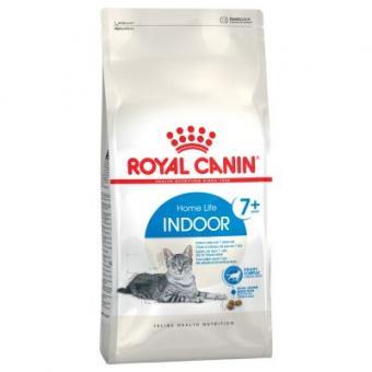Royal canin 0,4кг Indoor +7 Полнорационный сбалансированный корм для стареющих кошек (в возрасте от 7 до 12 лет), живущих в помещении