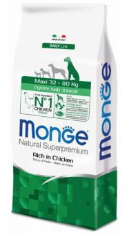 Monge Dog 3 кг Maxi корм для щенков крупных пород