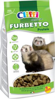 Cliffi  Корм для хорьков 0,800г протеиновый (Furbetto proteic SELECTION) PCRA042