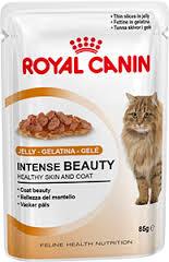 12 шт. Royal canin 85 г. Intense Beauty (в желе) Влажный корм для поддержания красоты шерсти кошек