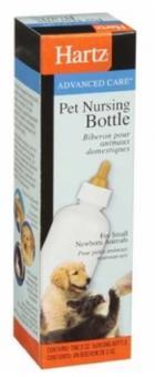 Hartz Бутылочка  60 мл с соской для котят и щенков, HEALTH MEASURES NURSING BOTTLE FOR KITTENS AND PUPPIES