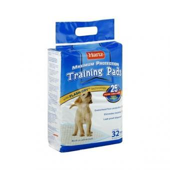 Hartz 56x56см 32шт Puppy Training PadsВпитывающие пеленки для щенков и собак