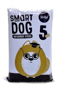 Smart Dog 60*40см 5шт Впитывающие пеленки для собак