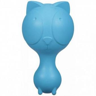 JW Ruffians Cat Котенок с пищалкой, каучук, игрушка для собак