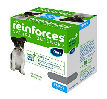 Viyo коробка 30 мл х 7 шт Puppy пребиотический напиток для щенков до 1 года