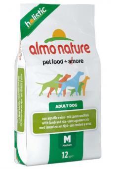 Almo nature 12кг Adult lamb Сухой корм для взрослых собак всех пород ягненок
