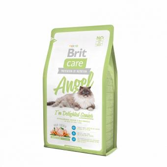 Brit 2 кг Care Cat Senior для пожилых кошек