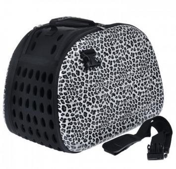 Ibiyaya 46*32*30см складная сумка-переноска для собак и кошек до 6 кг сафари