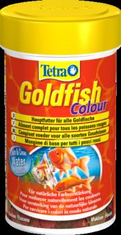 TetraGoldfish Colour корм в хлопьях для улучшения окраса золотых рыб 100 мл