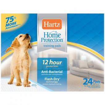 Hartz 56x56см 24шт Puppy Training PadsВпитывающие пеленки для щенков и собак