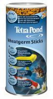 Tetra Wheatgerm Sticks 1л -корм для прудовых рыб низких темпиратур, плавающий.