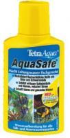 AquaSafe  100 мл на 200 л - кондиционер для подготовки воды, делает воду пригодной для обитания рыб, связывает тяжёлые металлы, хлор.