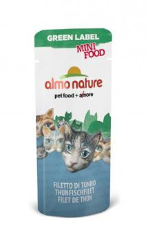 Almo Nature 3гр Green Label Mini Food Tuna Fillet Филе Тунца лакомство для кошек