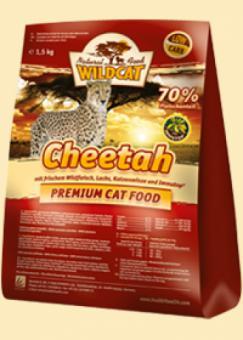 Wildcat 0,5кг Cheetah Сухой корм для кошек с мясом оленя, лосося и ягненка