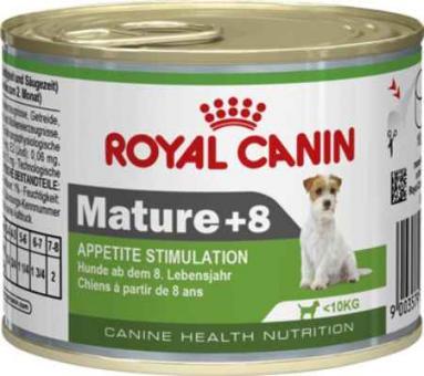 12шт Royal canin 195 г. Mature Mousse Мусс для пожилых собак 7-12 лет