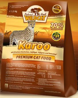 Wildcat 3кг. Karoo Сухой корм для кошек с мясом, кролик+индейка