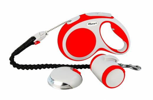 Flexi Vario Set Medium 5м до 20кг (рулетка+фонарь+мультибокс+аморт.ремень)