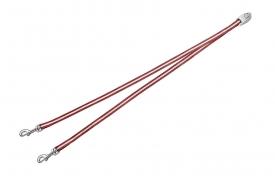 Flexi Vario Duo Belt - сворка для 2х собак для Flexi Vario (Красный)