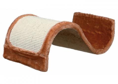 TRIXIE Когтеточка-волна, плюш 50х29х18см., коричневая 1 шт.