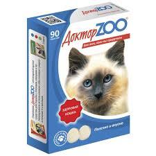 Доктор ZOO Мультивитаминное лакомство для кошек ЗДОРОВЫЙ ИММУНИТЕТ (морские водоросли)