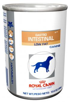 Royal Canin 410 г. Консервы Gastro intestinal low fat Диета с ограниченным содержанием жиров для собак при нарушениях пищеварения
